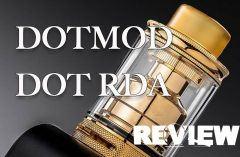 Dotmod dotRDA 24mm RDA Review- Spinfuel VAPE Magazine
