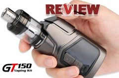 GTRS GT150 150W TC Starter Kit - 4000mAh Review – Spinfuel VAPE Magazine