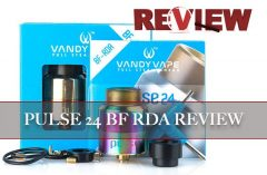 Pulse 24 BF RDA by Vandy Vape & Tony B. Review – Spinfuel VAPE Magazine