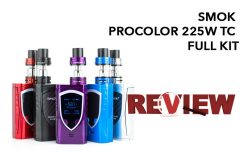 SMOK ProColor 225W TC Starter Kit Review – Spinfuel VAPE Magazine