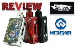 HCigar VT Inbox DNA75 Squonk Box Review SPINFUEL VAPE MAGAZINE