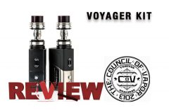 Council of Vapor Voyager Kit Review – Spinfuel VAPE Magazine