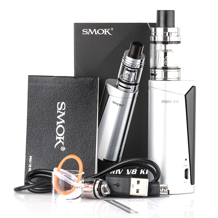 SMOK PRIV V8 60W Vape Kit Review – Spinfuel VAPE Magazine