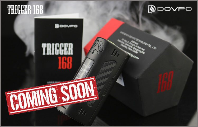 DOVPO TRIGGER 168W TC BOX MOD PREVIEW – SPINFUEL VAPE