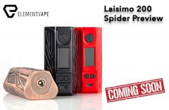 Laisimo Spider 200 TC Box Mod Preview Spinfuel VAPE