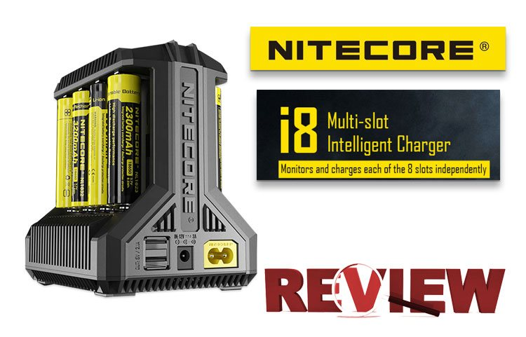 Nitecore i8 Intellicharger Universal Battery Charger Review – Spinfuel VAPE
