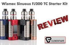 Wismec Sinuous FJ200 TC Starter Kit Review – Spinfuel VAPE