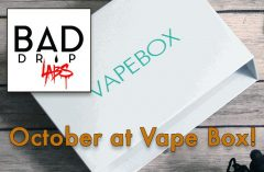 The October Vape Box Spectacular!