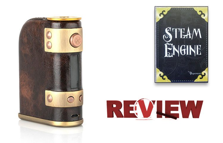 Vapeman Steam Engine DNA75 Mod Review – Spinfuel VAPE