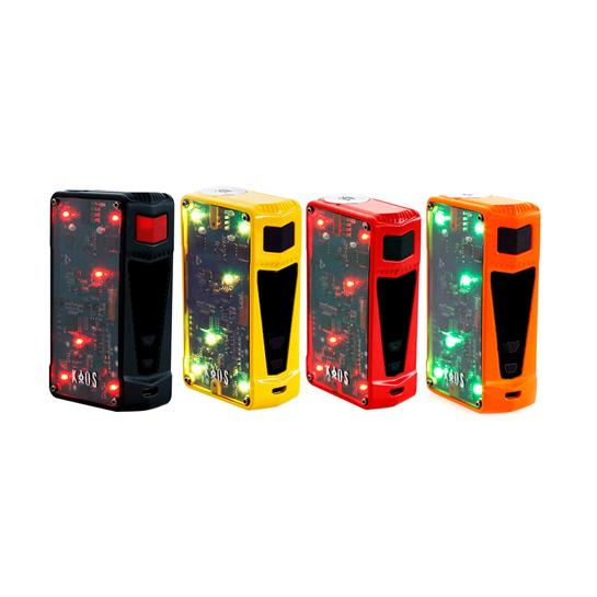 SIGELEI™ KAOS Z 200W TC BOX MOD PREVIEW – SPINFUEL VAPE