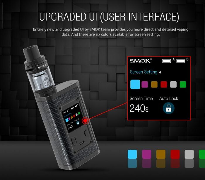 SMOK Majesty Carbon Kit Review – SPINFUEL VAPE