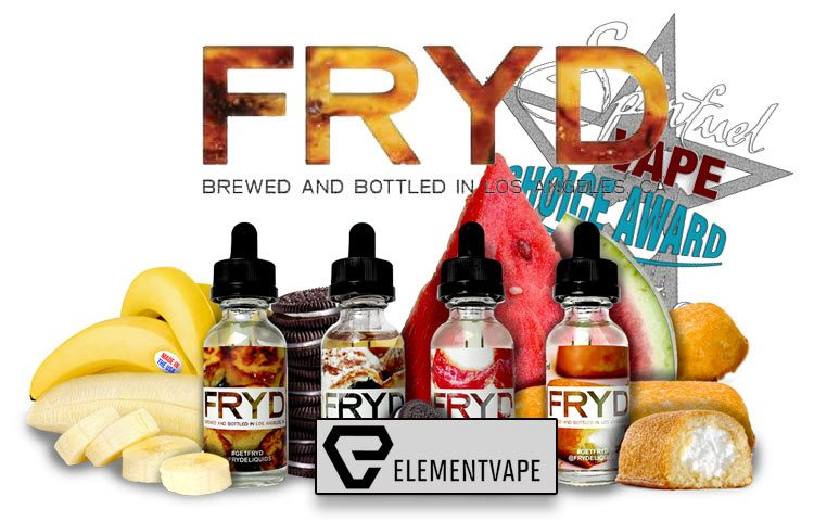 FRYD E-Liquid A Spinfuel VAPE Eliquid Review