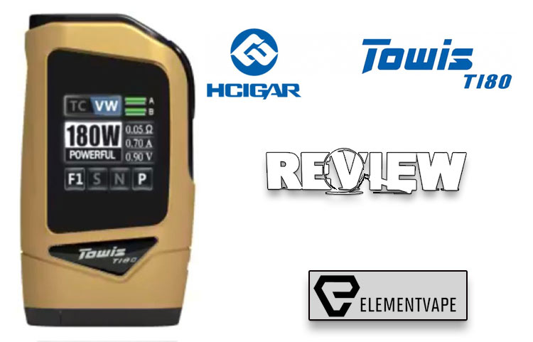 The HCigar Towis T180 Mod Review – Spinfuel VAPE