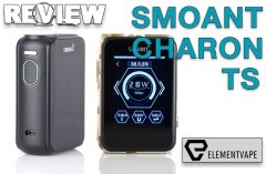 Smoant Charon TS Box Mod Review – SPINFUEL VAPE