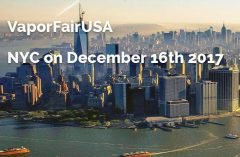 VaporFairUSA taking place in NYC in December