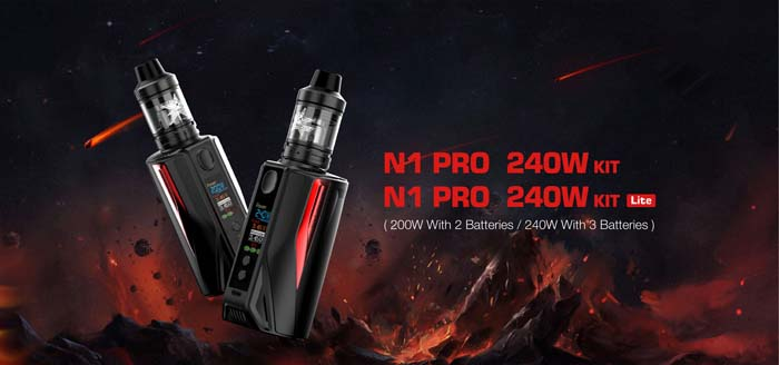 Vaptio N1 Pro 240W Starter Kit Review – Spinfuel VAPE