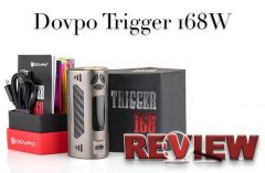 Dovpo Trigger 168w TC Box Mod Review – Spinfuel VAPE