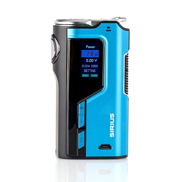Modefined Sirius 200W TC Mod Review | Spinfuel VAPE