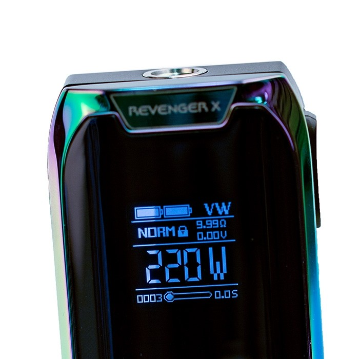 Vaporesso Revenger X 220W TC Kit Preview – Spinfuel VAPE