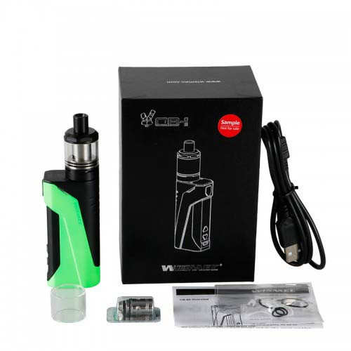 Wismec CB-60 Starter Kit Review – Spinfuel VAPE