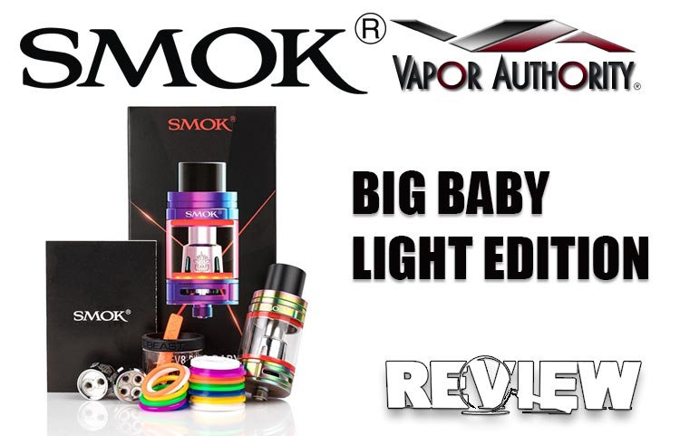 SMOK TFV8 Big Baby Light Edition Sub-Ohm Tank Review – Spinfuel VAPE