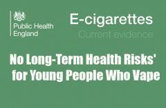 No Long-Term Health Risks' for Young People Who Vape