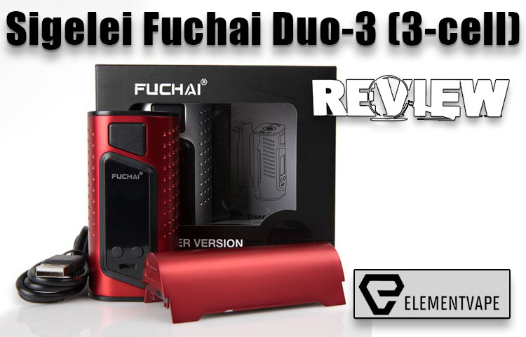 Sigelei Fuchai Duo-3 Mod (3-battery configuration) Review – Spinfuel VAPE Magazine