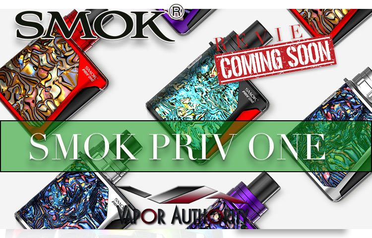 SMOK PRIV ONE STARTER KIT (AIO) PREVIEW – SPINFUEL VAPE MAGAZINE