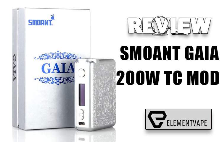 Smoant GAIA 200W Mod Review - SPINFUEL VAPE