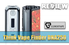 Think Vape Finder DNA250 Mod Review – Spinfuel VAPE