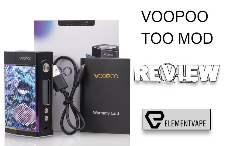 VOOPOO TOO 180W TC Box Mod Review- Spinfuel VAPE
