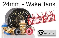 The 24mm Gold-Plated Wake Tank Sub-Ohm Preview – Spinfuel VAPE