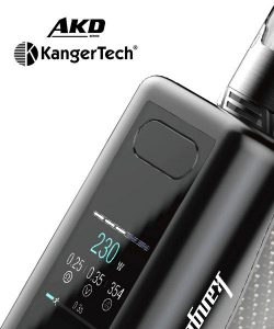 KANGER IKEN STARTER KIT - AKD SERIES – REVIEW – SPINFUEL VAPE