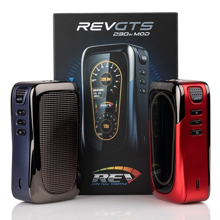 REV-Tech GTS 230W Mod Review – SPINFUEL VAPE