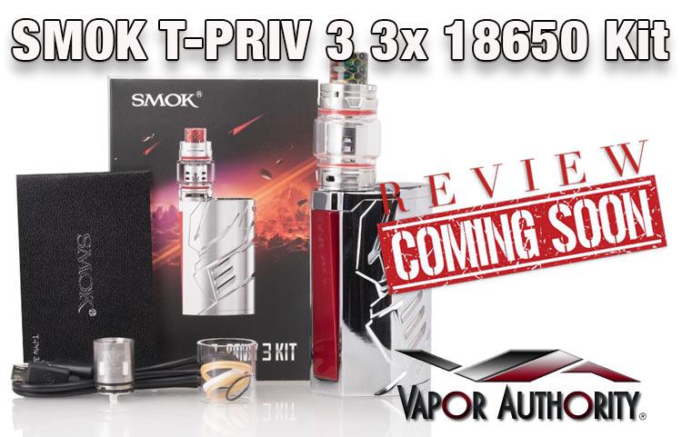 The Transformer-like SMOK T-Priv 3 Preview | Spinfuel VAPE