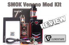 SMOK Veneno 225W TC Mod Kit Review – Spinfuel VAPE