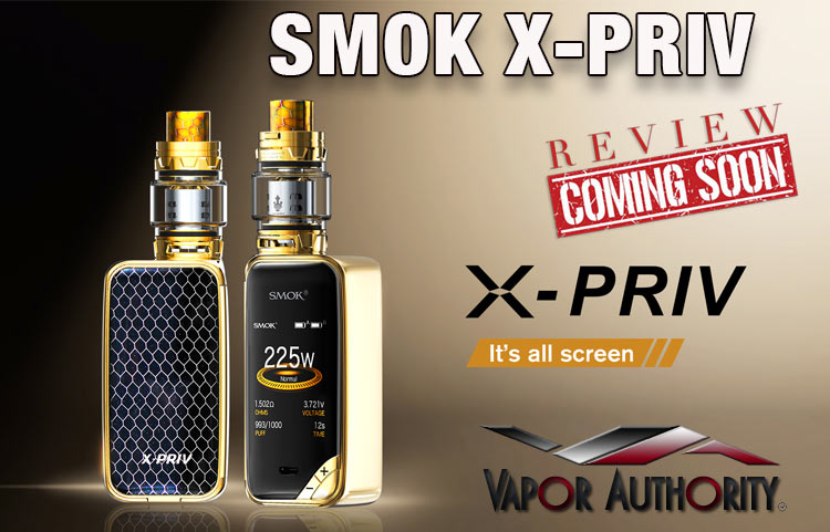 The Sophisticated SMOK X-PRIV Mod Kit Preview - Spinfuel VAPE