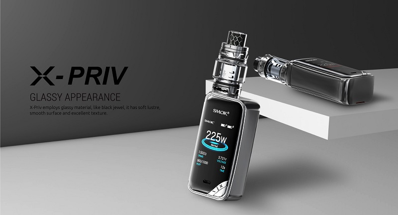 The Sophisticated SMOK X-PRIV Mod Kit Preview - Spinfue VAPE