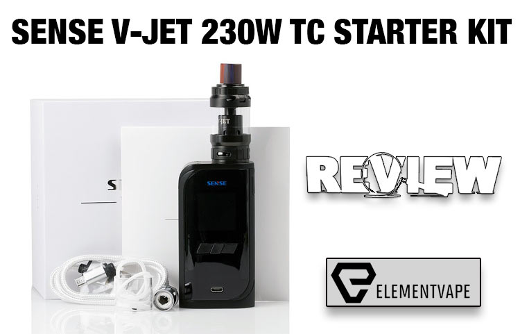 The Sense V-Jet 230W TC Starter Kit Review | Spinfuel VAPE