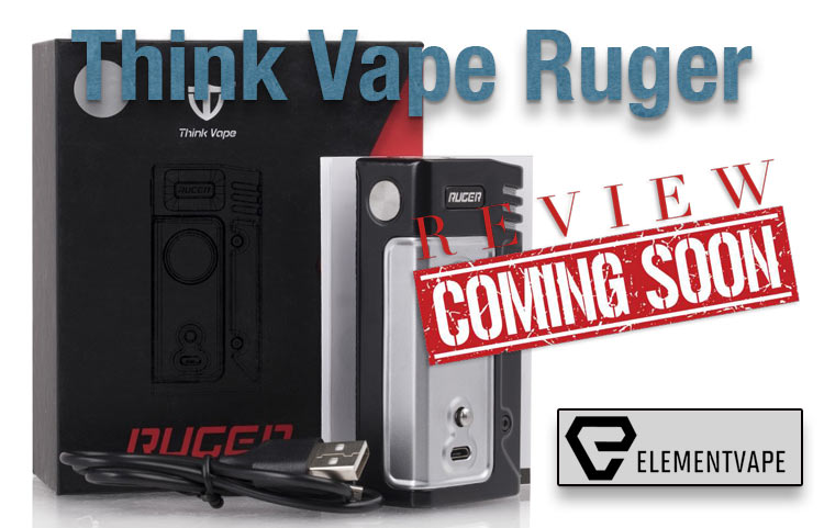 Think Vape Ruger 230W TC Compact Box Mod Preview