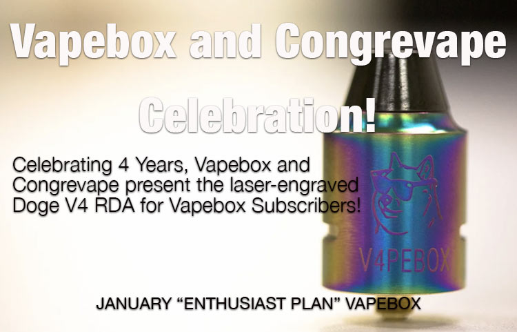 VAPEBOX CONGREVAPE DOGE V4