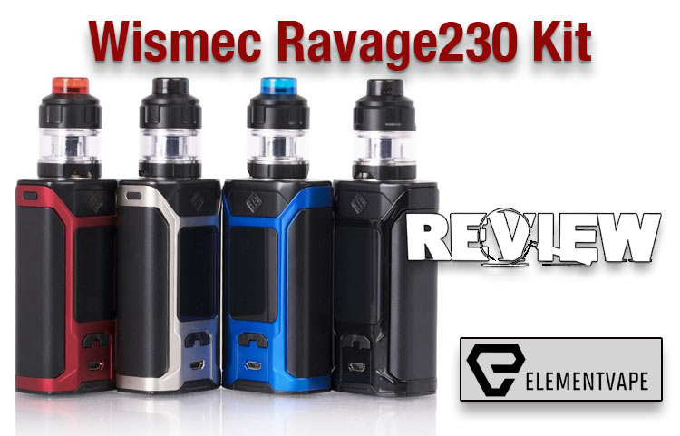 Wismec Ravage230 Mod Kit Review – Spinfuel VAPE