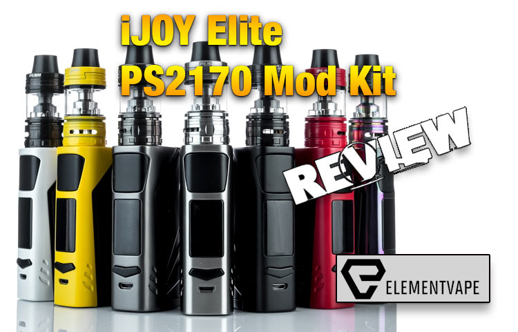 iJOY Elite PS2170 Mod Kit Review by Spinfuel VAPE