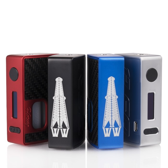 Hotcig x Rig Mod RSQ Regulated Squonk Mod Review – Spinfuel VAPE