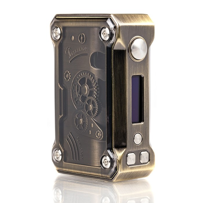 Tesla Punk 220W Steampunk Box Mod Preview by Spinfuel VAPE