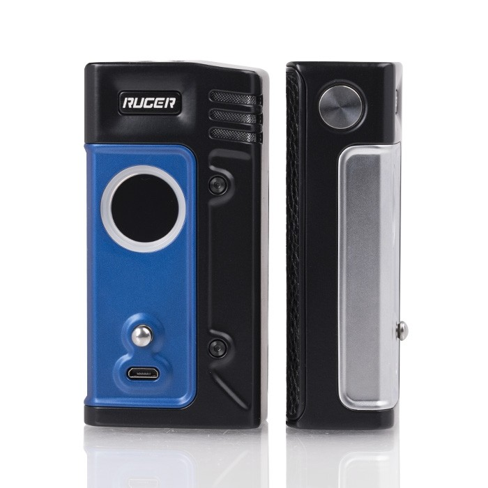 think_vape_ruger_230w_tc_box_mod_front_side