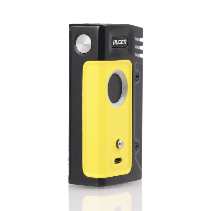 think_vape_ruger_230w_tc_box_mod_yellow