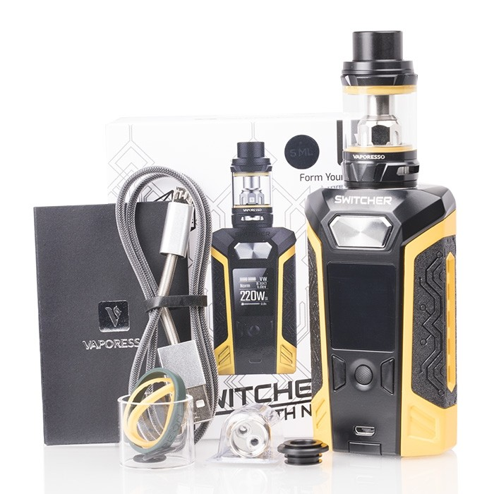 Vaporesso Switcher 220W Customizable Mod Kit Preview - Spinfuel VAPE