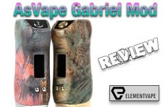 Asvape Gabriel 80W TC Stabilized Wood Box Mod Review - Spinfuel VAPE