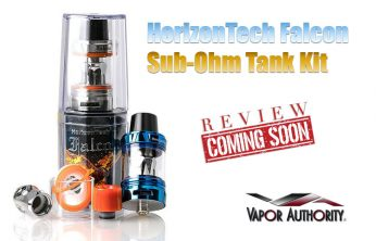 HorizonTech Falcon Sub-Ohm Tank Preview - Spinfuel VAPE